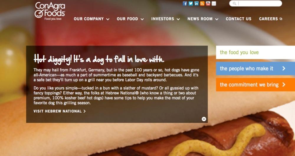 ConAgra Foods Homepage Copy 1